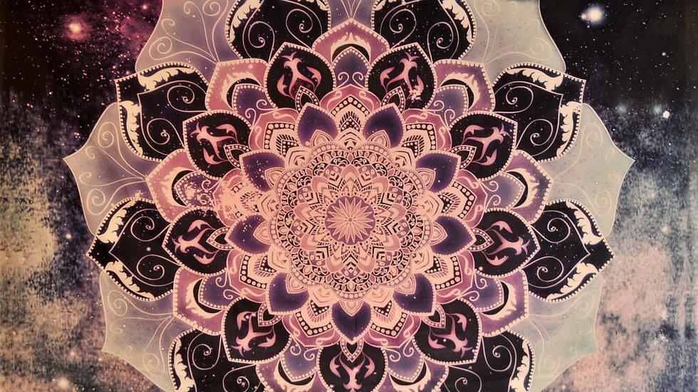 Mandala Bohemia Star Tapestry -M1