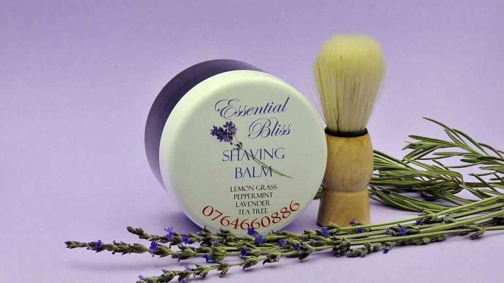 Shaving Cream with brush