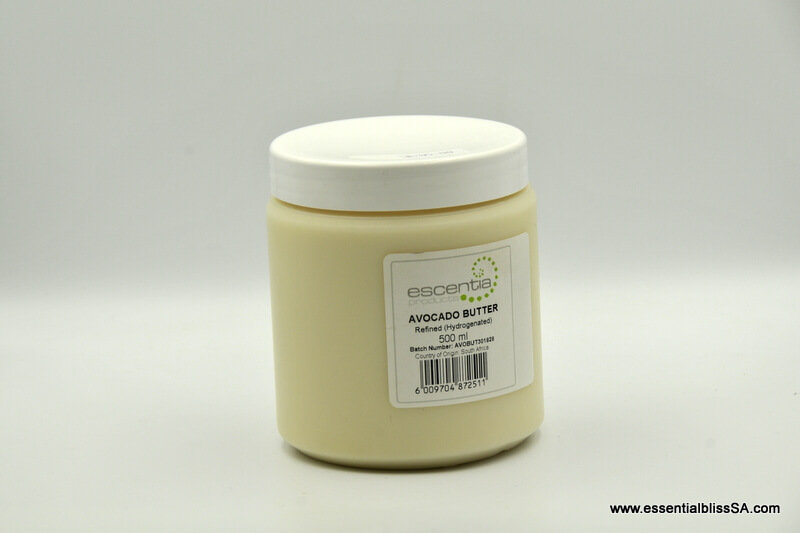 Avocado Butter, hydrogenated - Refined 500ml
