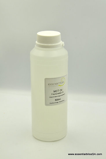 Fractionated coconut/palm oil (caprylic/capric triglyceride/mct) 500ml