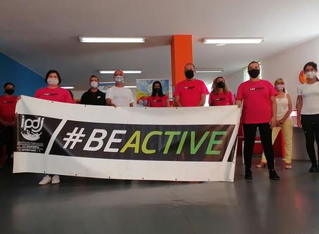 Associação PAS participa na 6ª Edição da Semana Europeia do Desporto #Beactive #Ipdj