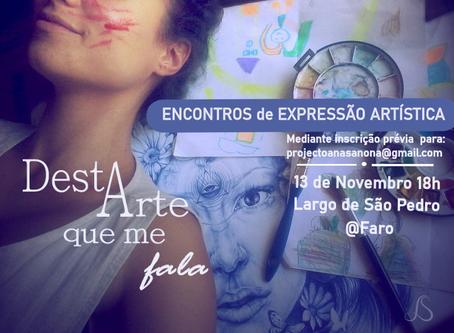Encontros de Expressão Artística 2ª sessão - Venha criar(-se)!