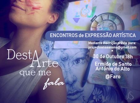 Encontros de Expressão Artística 1ª sessão - Venha criar(-se)!