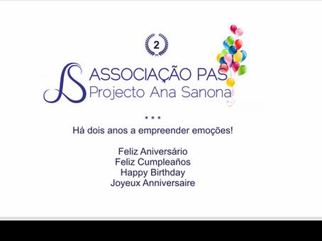 Feliz Aniversário Associação PAS