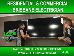 Rochedal - Brisbane - Wall mounted TV Te