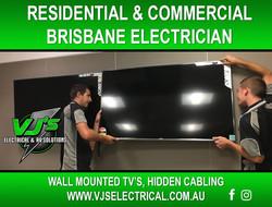 Rochedal - Brisbane - Wall mounted TV Te
