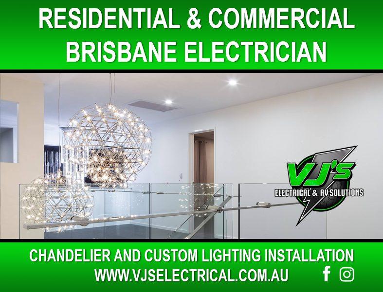 Brisbane Chandelier Installation