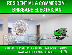 Brisbane Chandelier Installation
