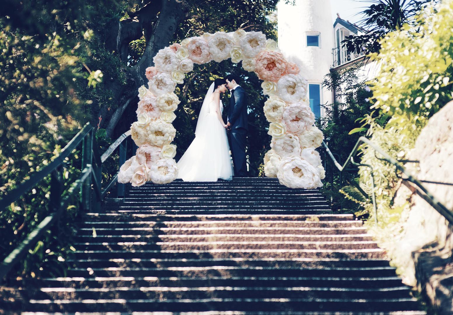 Staircase Wedding Shoot
