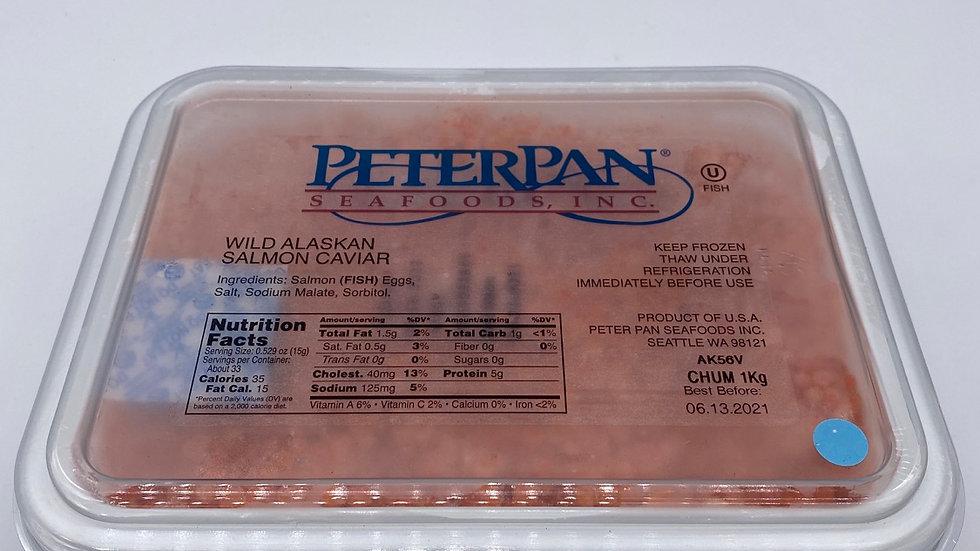 Peter Pan Chum Red Salmon Caviar 1kg