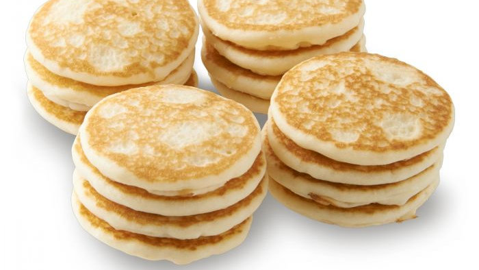 French Mini Blinis   16 count