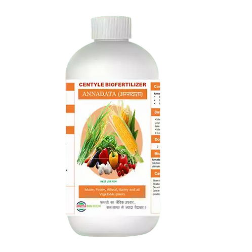 Annadata Liquid Biofertilizer / Plant Growth Promoter / Organic Fertilizer centylemart