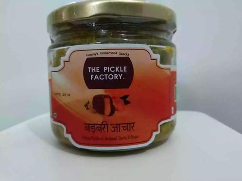 Barabri Pickle - Mixed Jimikand, Garlic & Ginger Pickle - Centyle Mart