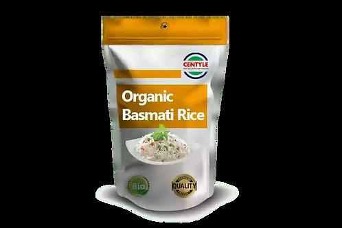 Organic White Basmati Rice Centyle Mart