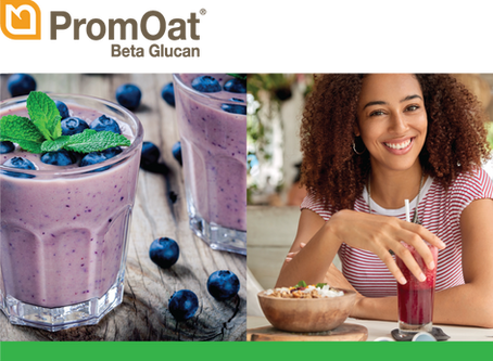 PromOat and PromOat Gluten-Free oat beta-glucan | The natural, healthy, functional oat ingredient