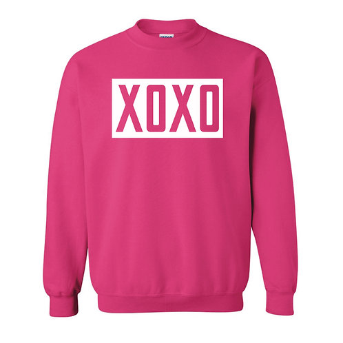 XOXO Adult Pullover