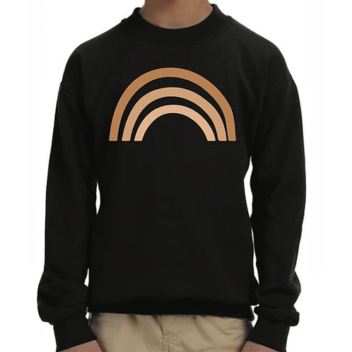 Ombré Rainbow Youth Pullover