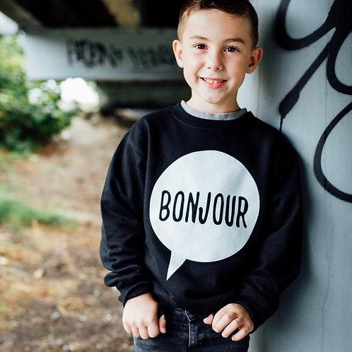 Bonjour Kids Fleece Pullover