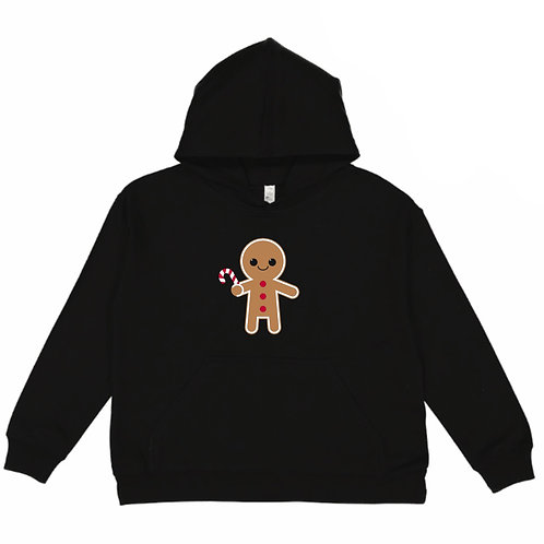 Gingerbread Youth Fleece Hoodie