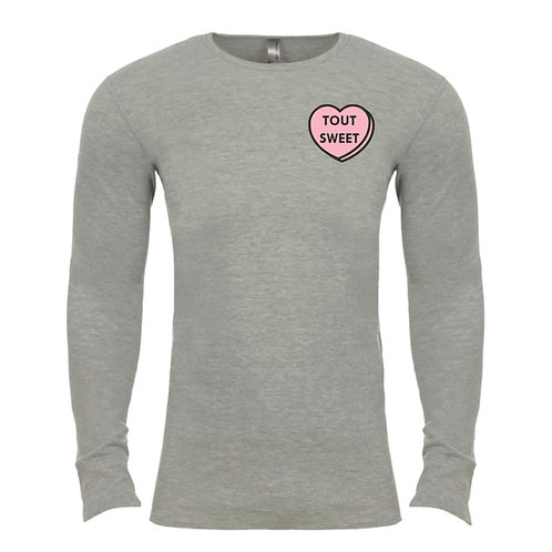 Tout Sweet Candy Adult Waffle Shirt