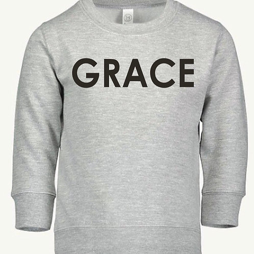 GRACE Kids Fleece Pullover