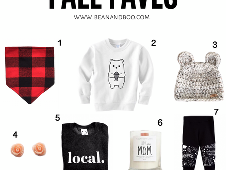 Top 10 Favourite Things For Fall