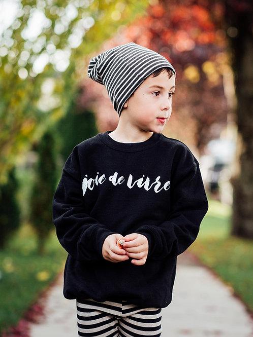 Joie de Vivre Youth Pullover