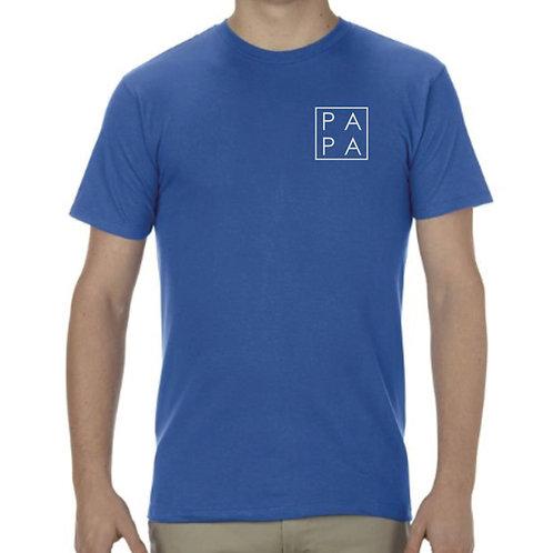 Blue PAPA Men's T-Shirt