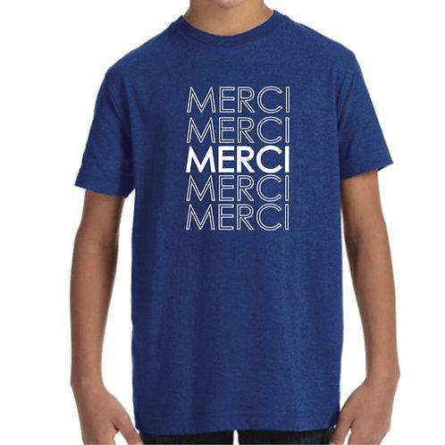 Merci (Thank You) Kids T-shirt