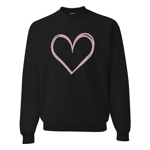 Heart Adult Pullover