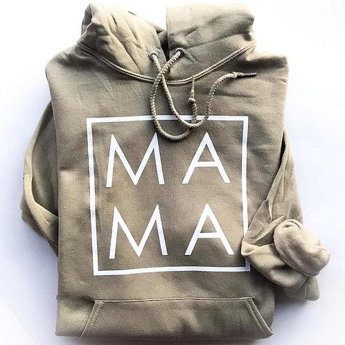 MAMA Khaki Hoodie