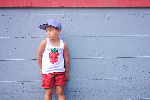 Strawberry Kids Tank Top
