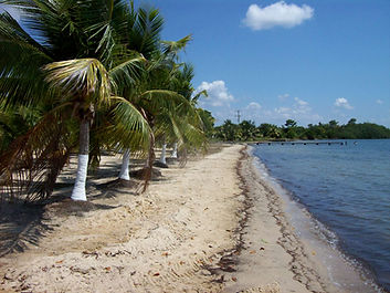 Belize Beach Front at Malacate