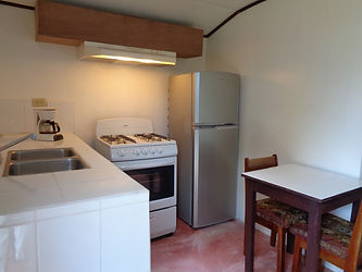 Full kitchen guest cottage Belize Real Estate