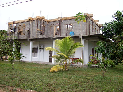Home Construction at Malacate Beach