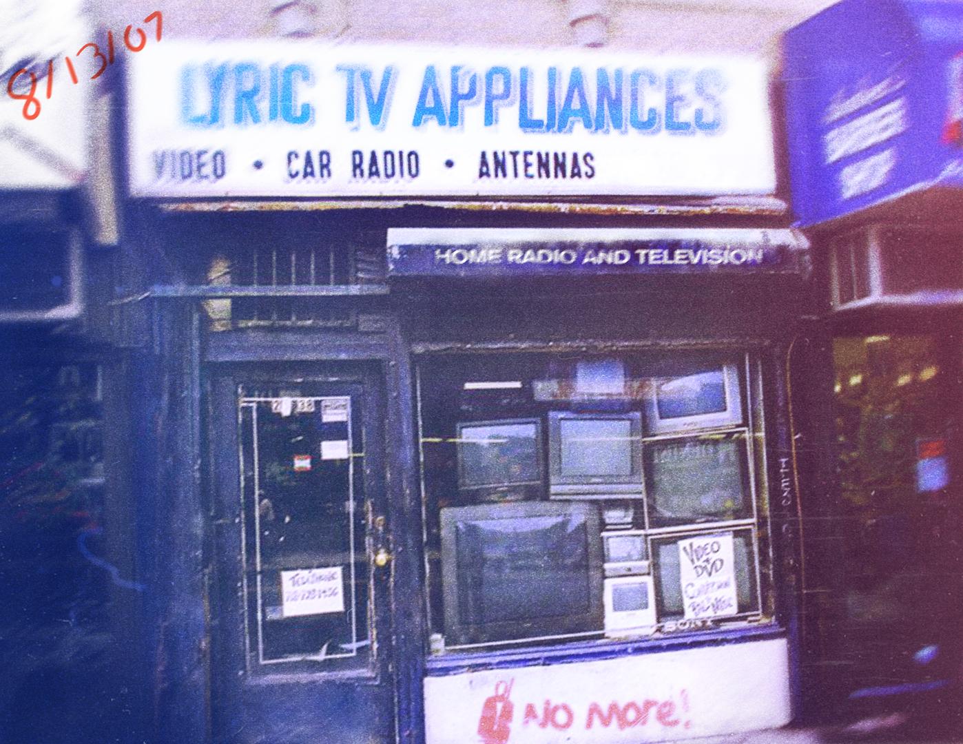 Lyric Television Appliances