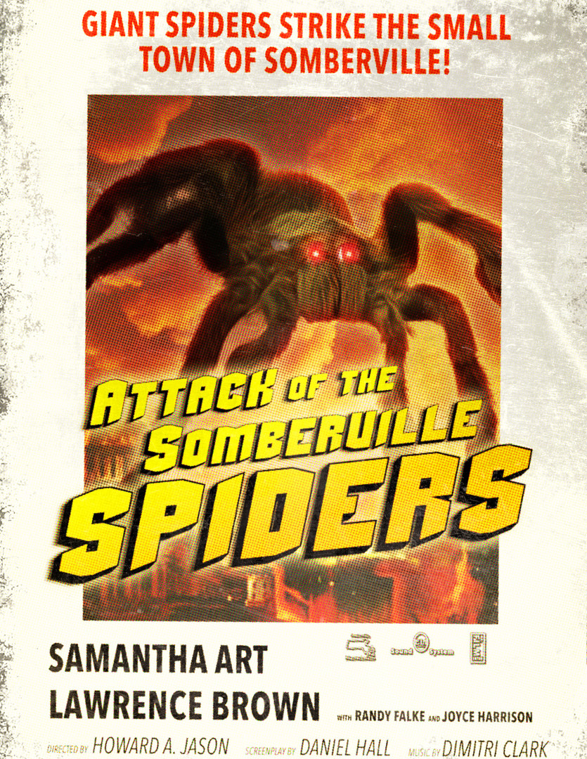 Somberville Spiders Poster