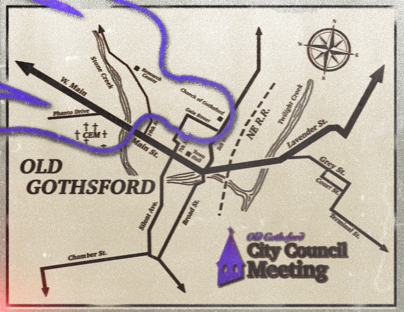 Old Gothsford Map