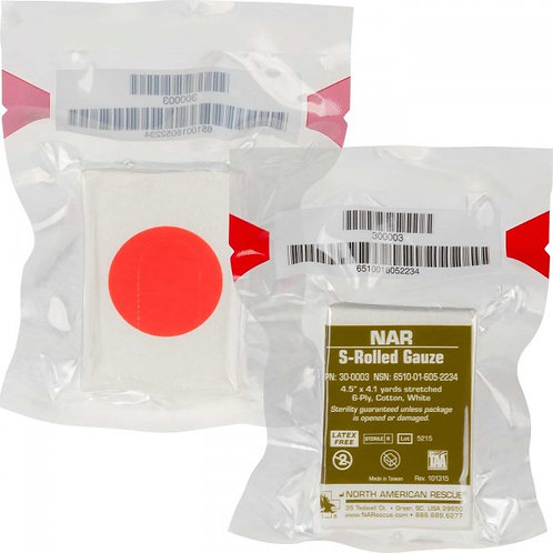 S-Rolled Gauze - North American Rescue