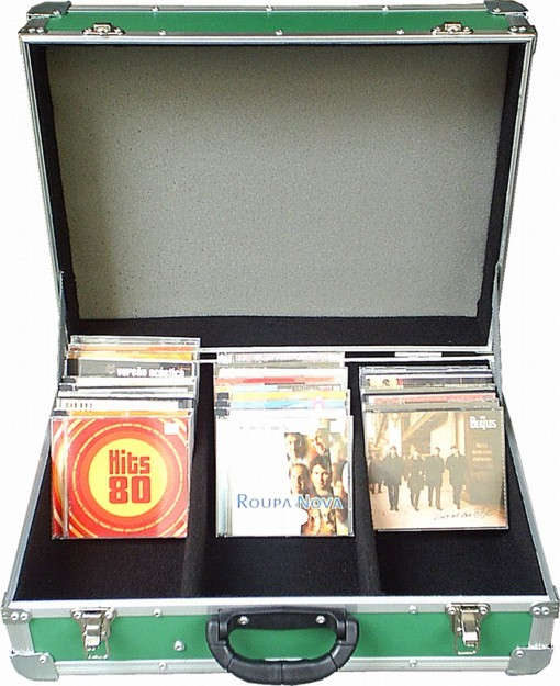 MALETA P/ 100 CD's