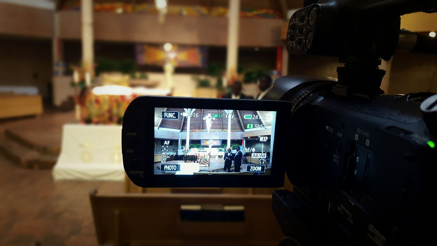 Camera Setup for Wedding