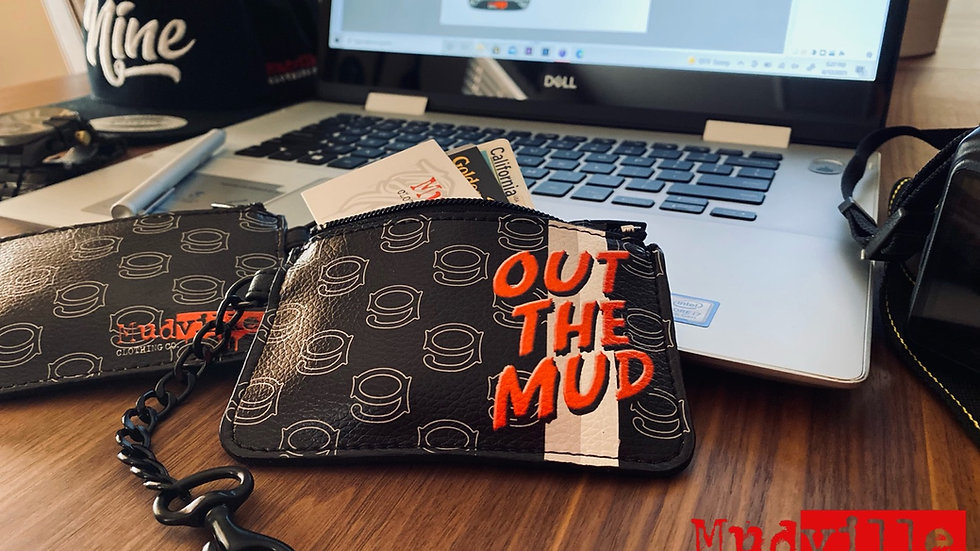 OUT THE MUD Keychain Pouch