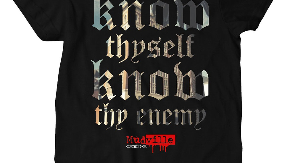 """""""Know thy enemy"""" Tee"""