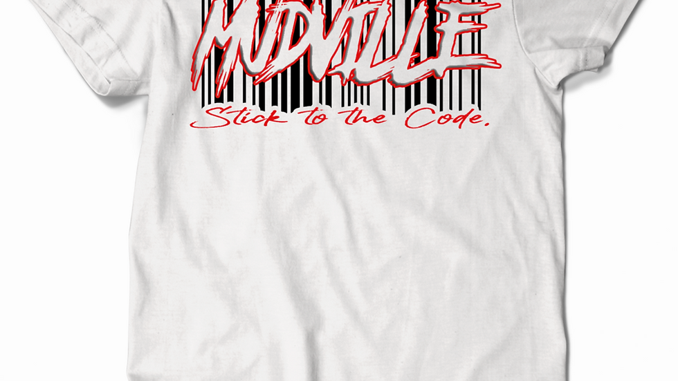 """Stick to the code"" Barcode Tee"
