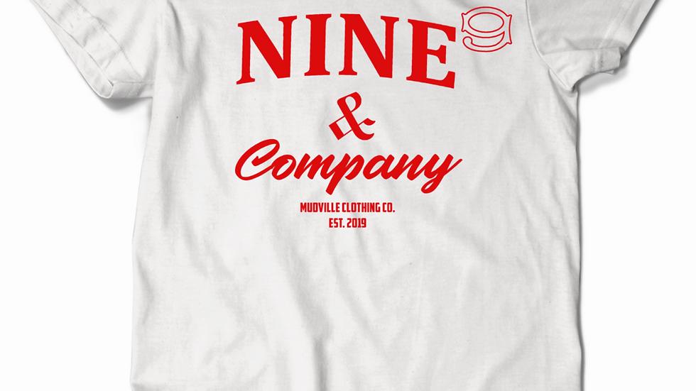 NINE & Company Tee (White)
