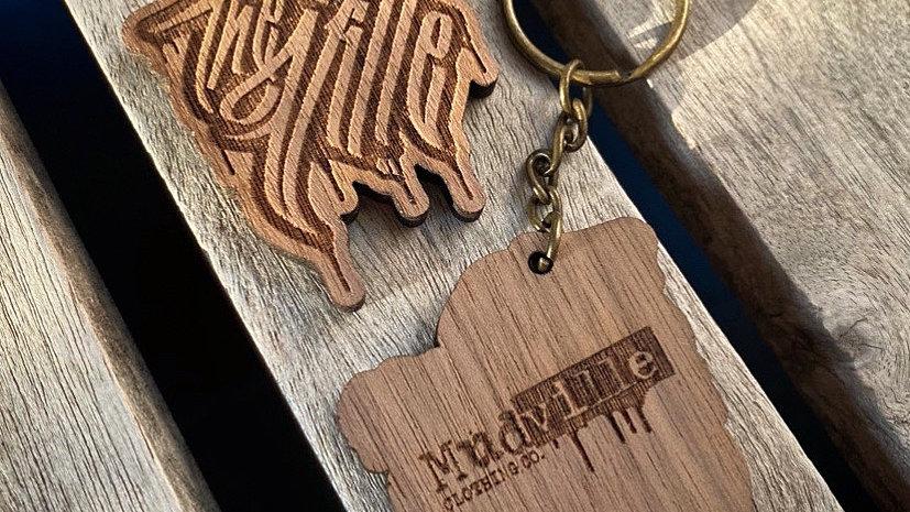 """TheVille"" Keychain"