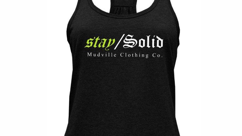 "Women's ""stay / Solid"" tank top"