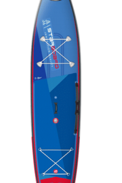 "Starboard Inflatable Touring  SUP 14""x30""x6"", Deluxe Double Chamber"