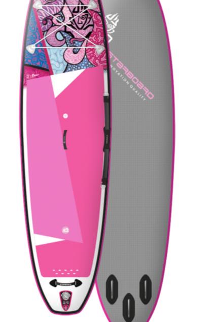 "Starboard iGO Inflatable SUP, 10'2"" X 31"" X 4.75"" Takhine, Sun"