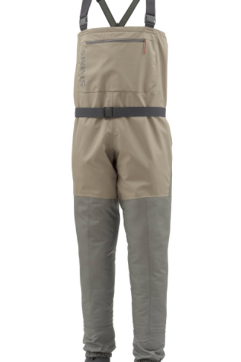 Simms Tributary Wader Stocking Foot, Tan